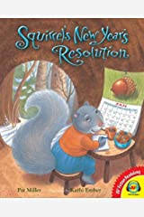 Squirrel's New Year's Resolution (AV2 Fiction Readalong) Library Binding