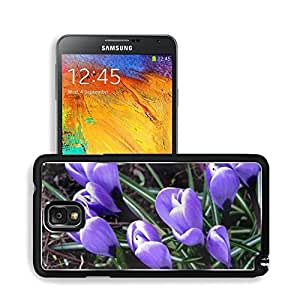 Budding Purple Crocus Flowers Nature Samsung Note 3 N9000 Case doudou's case