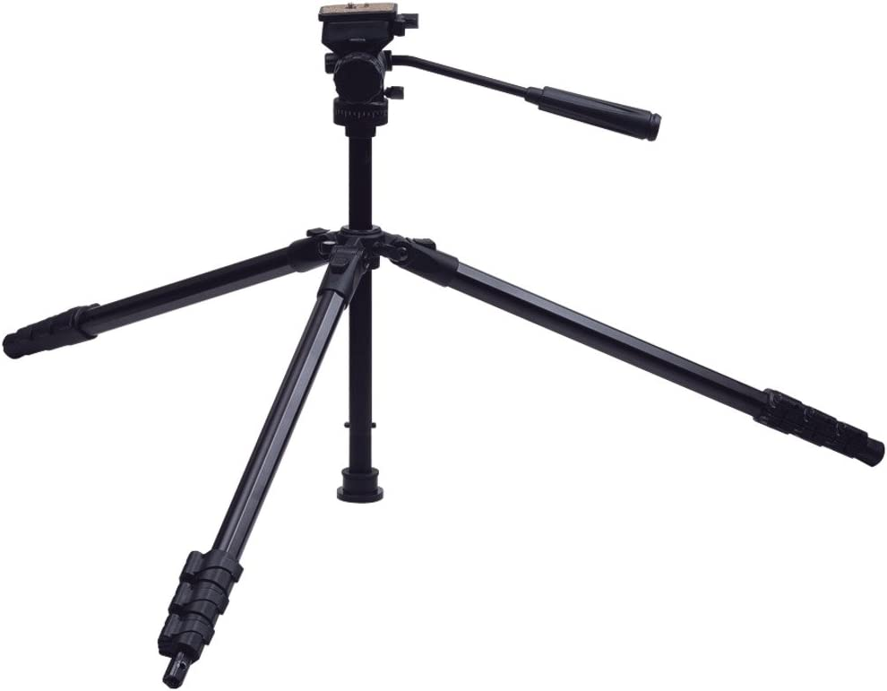 63-Inch TG-P65T Targus Pro Series 3-Way Panhead and Bubble Level Tripod With Monopod