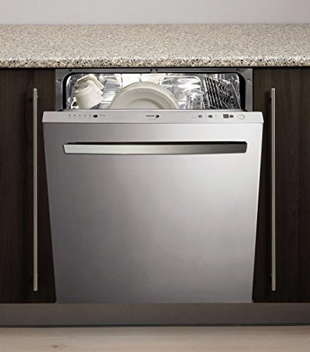 LFA-086 XL 24'''' Fully Integrated Built-In Dishwaser with 12 Place Settings 10 Wash Cycles Alternating Wash ECO Sensor Ultra Silent 45 dBA and Energy Star Rated in Stainless Steel by Fagor