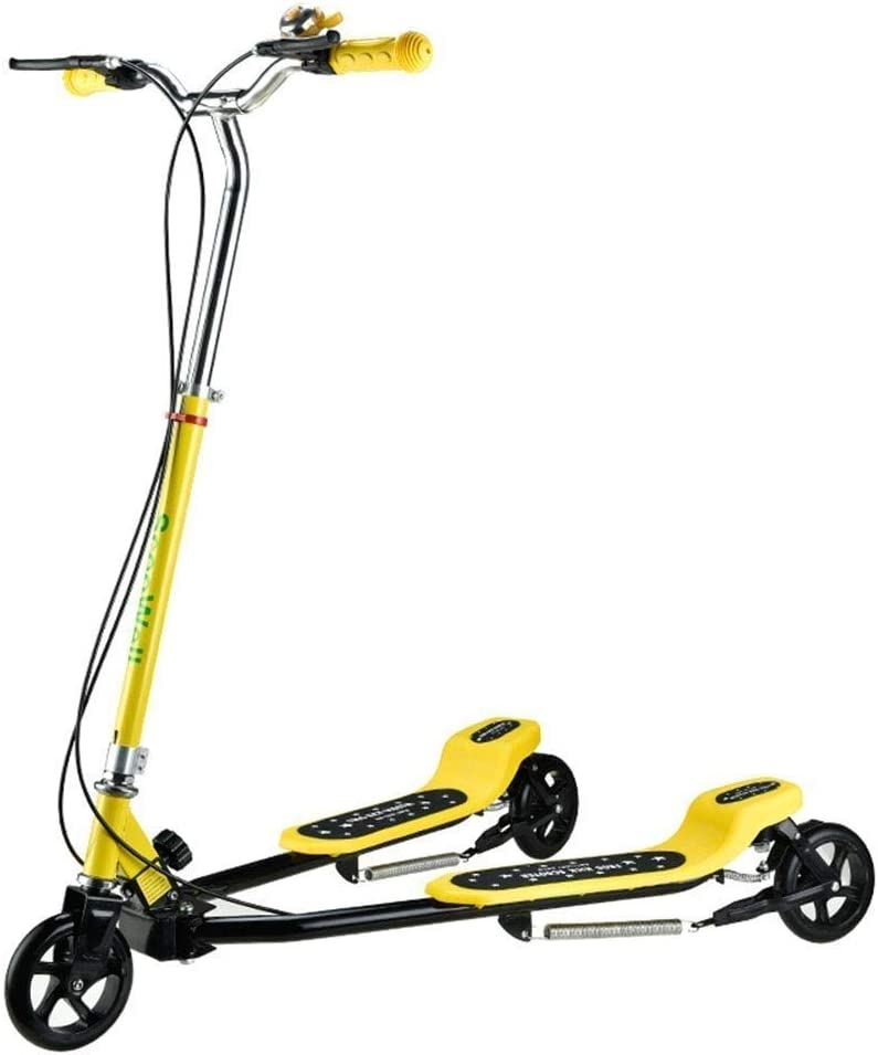 Breay1986 5歳以上の男の子と女の子の三輪ドリフター用スクーターカエルスクーター