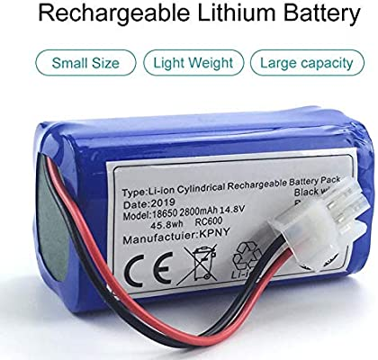 BianchiPatricia Robot Vacuum Cleaner Replacement Battery For Chuwi Ilife V7 V7s Pro: Amazon.es: Hogar