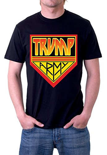 Kiss Army (Donald Trump Trump Army Kiss Army Style by Jerry Jackson T-Shirt (Large))