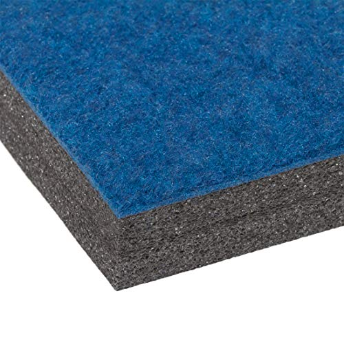 EZ Flex 5' x 10' Home Cheerleading/Gymnastics Mat (Blue) by EZ Flex Sport Mats (Image #2)
