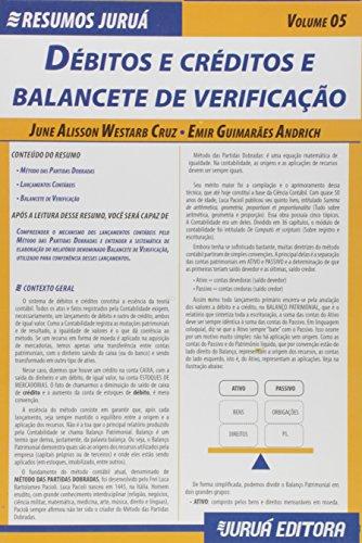 Resumos Juruá. Débitos e Créditos e Balancete de Verificação - Volume 5