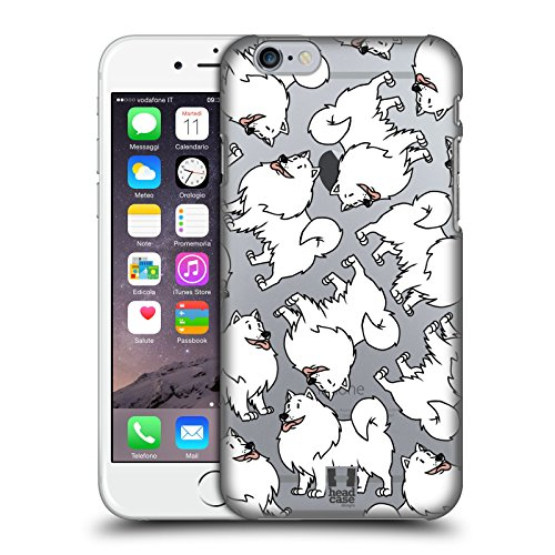 Head Case Designs American Eskimo Dog Breed Patterns 13 Hard Back Case Compatible for iPhone 6 / iPhone 6s