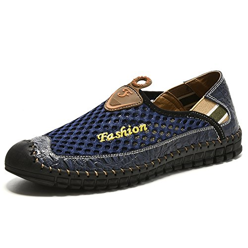 Surom Men's Driving Shoes Fashion Comfortable Loafers Men Slip On Sneakers