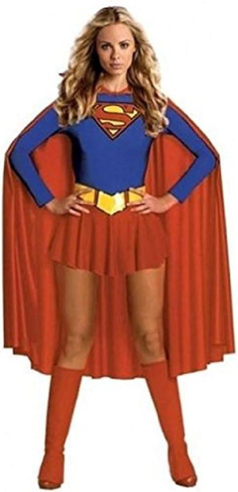 Burlesque Box – Disfraz®-Deluxe Sexy Supergirl Superwoman disfraz ...