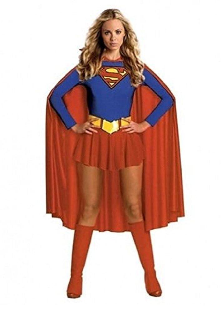 Burlesque Box - Disfraz®-Deluxe Sexy Supergirl Superwoman disfraz ...