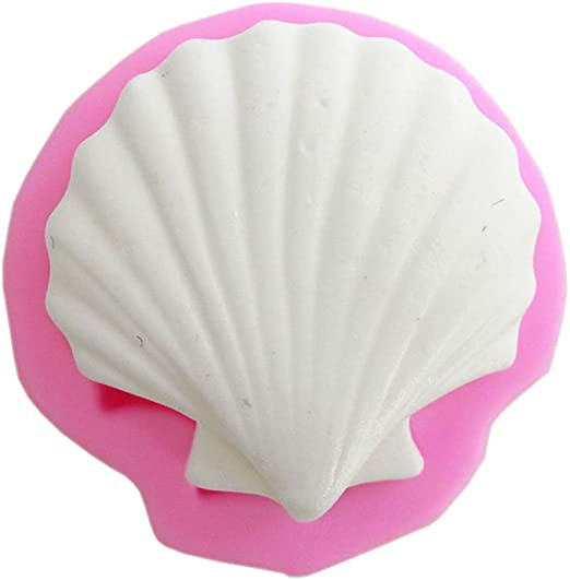 Seashell Sea Shell Silicone Cake Decorating Mould Fondant Sugarcraft Mold Baking