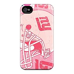 Great Hard Phone Cases For Iphone 4/4s (mnh15058jyEh) Unique Design Realistic New York Giants Pictures