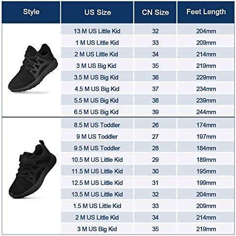 Biacolum Kids Sneaker Mesh Breathable Athletic Running