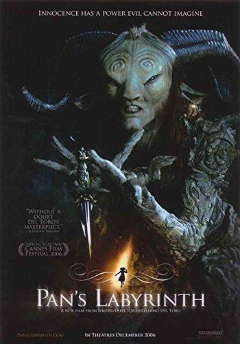 Pan's Labyrinth Style B2 - Labyrinth Pans Poster