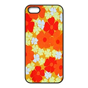 Retro Floral Flower ZLB536414 Brand New Phone Case for Iphone 5,5S, Iphone 5,5S Case