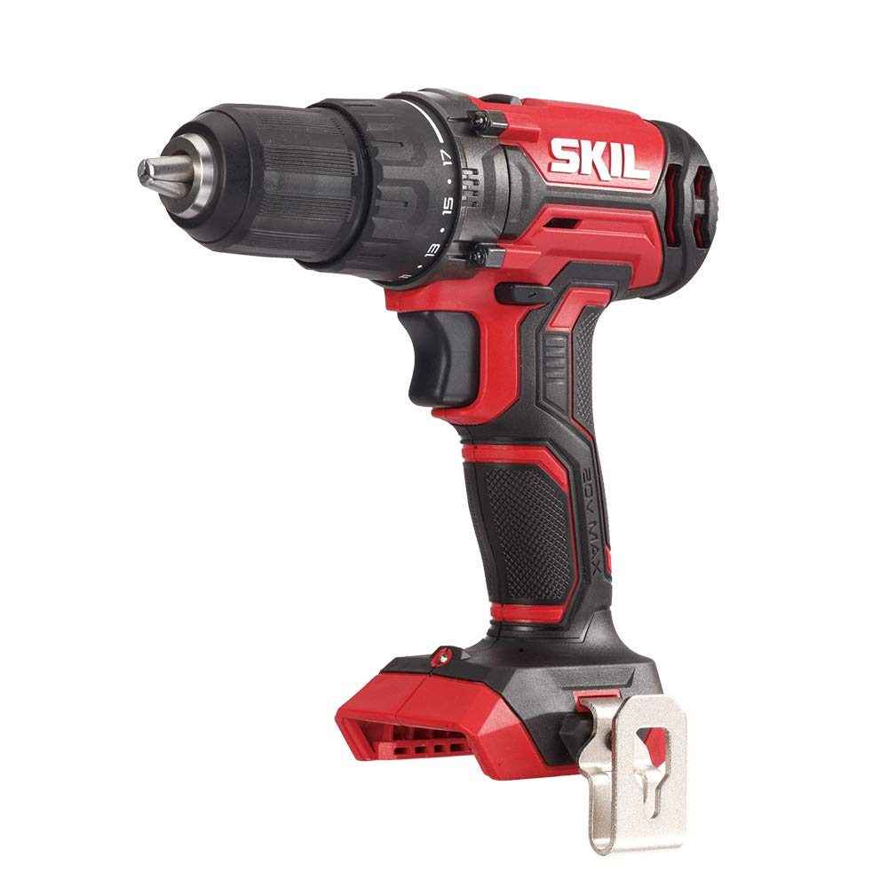 SKIL 20V 1 2 Inch Cordless Drill Driver, Bare Tool – DL527501