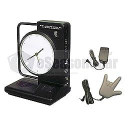 ILY-450 + LY45, I LOVE YOU Alarm Clock (Battery operated) + Bed Vibrating Shaker 120V, Sonic/Alert/Boom/Bomb