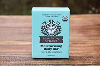 product image for Soap Mint & Sea Mineral Body Bar All Natural By Moon Valley Organics by Moon Valley Organics