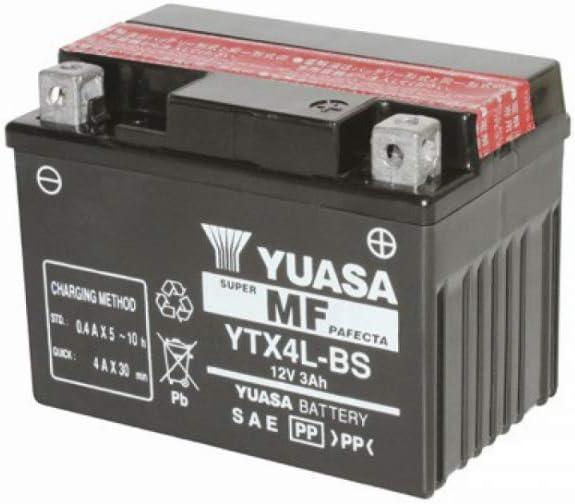 Batería Yuasa YTX4L-BS 12V 3,2Ah 50A (-18) ATV Scooter