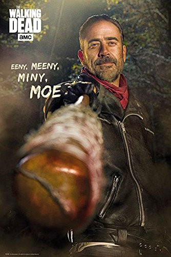 (The Walking Dead Poster - Negan (61cm x 91,5cm) + a Bora Bora poster!)