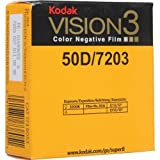 Super 8 KODAK VISION3 50D/7203 Color Negative Film, SP464 Cartridge, 50' Roll