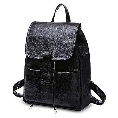 UTO Fashion Shoulder Bag Rucksack PU Leather Women Girls Ladies Backpack School Travel bag