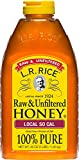 L.R. Rice Raw & Unfiltered Honey, Local SoCal, 48 oz