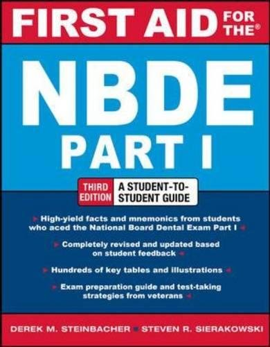 First Aid for the NBDE Part 1, Third Edition (First Aid Series)