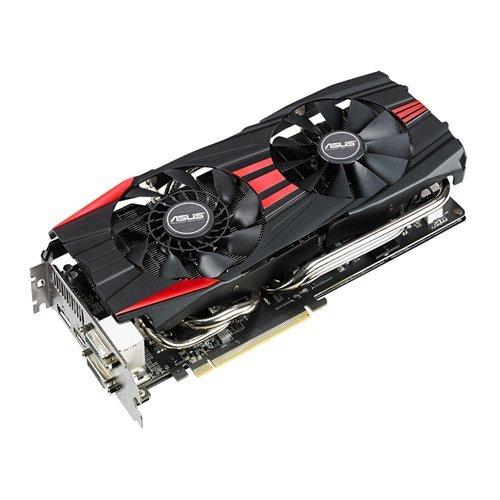 ASUS R9290-DC2OC-4GD5 - Tarjeta gráfica de 4 GB con AMD Radeon R9 290 (GDDR5, HDMI, DVI)