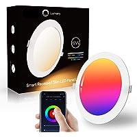 Downlight Led Techo Inteligente Ultrafina 12W 960LM, Lumary LED Empotrable Techo con Caja de Conexiones Controlada por…