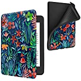 Fintie Case for All-New Kindle Paperwhite (10th Generation, 2018 Release) - Slim Lightweight Cover with Soft Flexible TPU Back Case Auto Sleep/Wake for Amazon Kindle Paperwhite E-Reader, Jungle Night