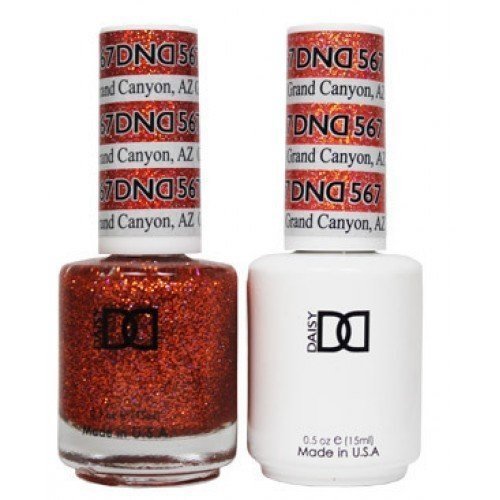 Daisy DND - Gelcolor and Matching Nail Polish color set (567 - Grand Canyon, AZ) by - Mall Canyon