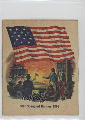 star-spangled-banner-1814-comc-reviewed-poor-trading-card-1976-quality-bakers-flags-of-america-base-