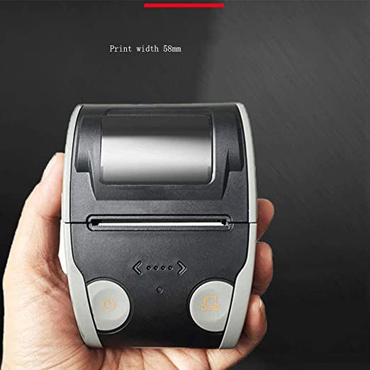 YAHUA LI Impresora térmica portátil de 58 mm, Impresora térmica de ...