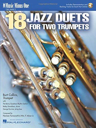 Burt Collins - Trumpet Duets in Jazz: Music Minus One Trumpet