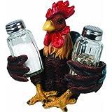 River's Edge Salt and Pepper Shaker Holder (Rooster)
