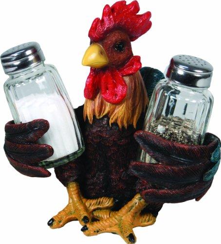 (River's Edge Salt and Pepper Shaker Holder (Rooster))