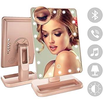 Amazon Com Briday Led Bluetooth Speaker Makeup Mirror