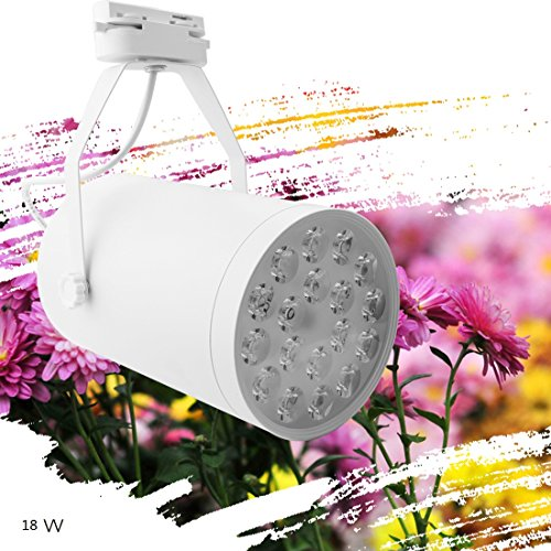 A-SZCXTOP Upgraded 18W LED Spotlight 18 LED Bulbs Plant Growth Light Adjustable for Patio, Yard, Driveway, Office, Home Garden, Greenhouse …