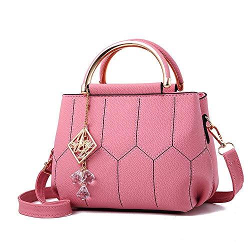 per verde Borsa Rosa le dimensioni a Fashion 22x13x16cm Tote donne tracolla Casual Totes Willsego colore xqPICSI