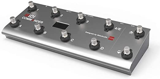 MeloAudio MIDI Commander guitarra piso Multi-efectos USB portátil ...