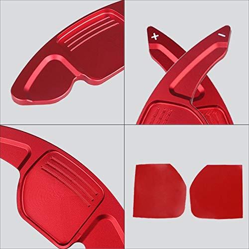 rojo FFZ Parts GmbH FFZ Parts Alargador de palancas de cambio de marchas para A1 A3 A4 A5 A6 A7 A8 Q3 Q5 Q7 TT Ibiza Leon 5F Cupra FR