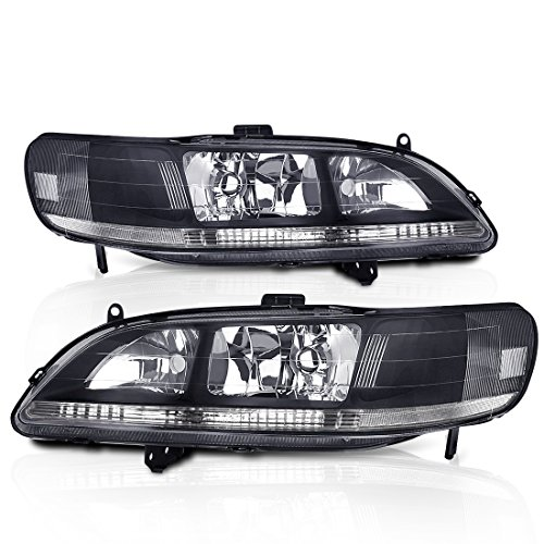 02 honda accord coupe headlights - 5