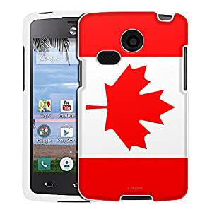 LG Lucky Case, Snap On Cover by Trek Canada Flag Case
