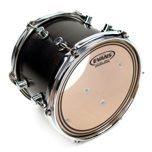 Evans EC Resonant Drum Head, 12 - Head Pop Drum