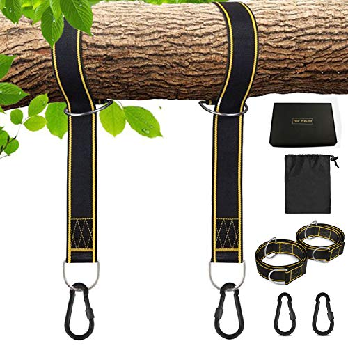 Furniture Strong-Willed 2pcs Hammock Hanging Tree Strap Rope Belt For Camping Hammock Straps To Adopt Advanced Technology