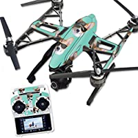 Skin For Yuneec Q500 & Q500+ Drone – Cool Corgi | MightySkins Protective, Durable, and Unique Vinyl Decal wrap cover | Easy To Apply, Remove, and Change Styles | Made in the USA