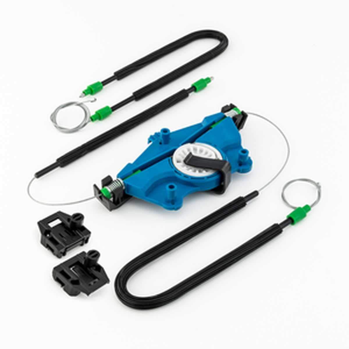Fensterheber Reparatursatz Set mit Motordeckel VL f/ür SEAT LEON 1M 99-06