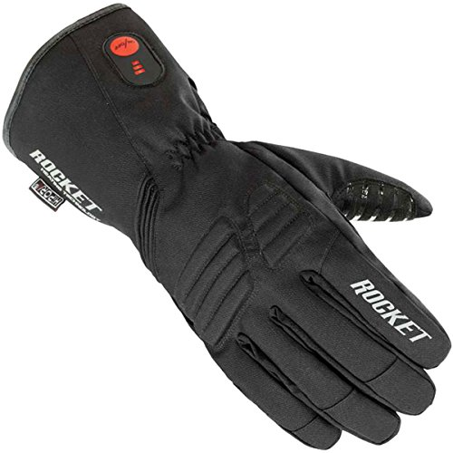 Joe Rocket Rocket Burner Men's Textile Street Racing Motorcycle Gloves - Black / X-Large