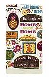 Home Kitchen Features Best Deals - Ritz Kitchen Wears Print Velour Kitchen Towel, Home Sweet Home