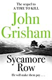 Front cover for the book Sycamore Row by John Grisham
